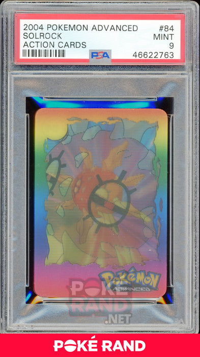 SOLROCK PSA 9 - Advanced Action - PokeRand