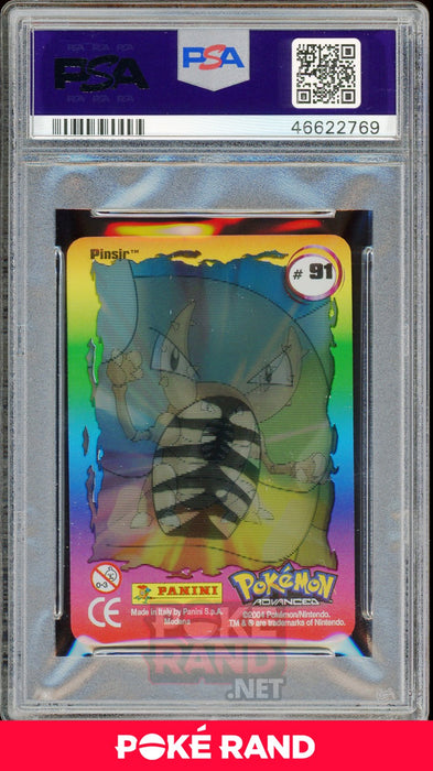 PINSIR PSA 7 - Advanced Action - PokeRand