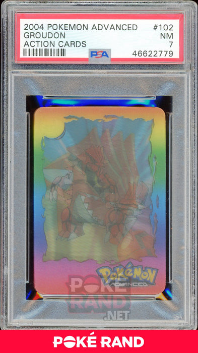 Groudon PSA 7 - Advanced Action - PokeRand