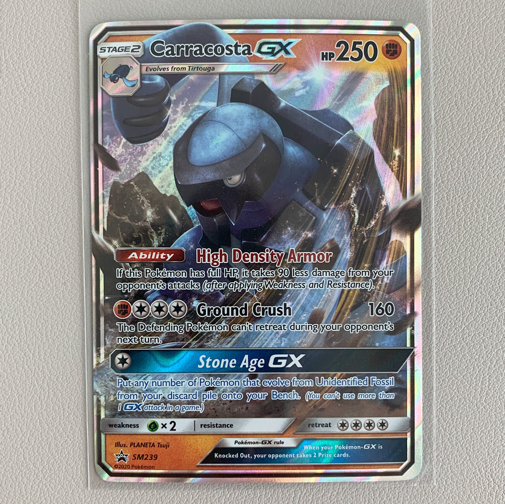 Carracosta GX- Sun & Moon Promo (SM239) - PokeRand