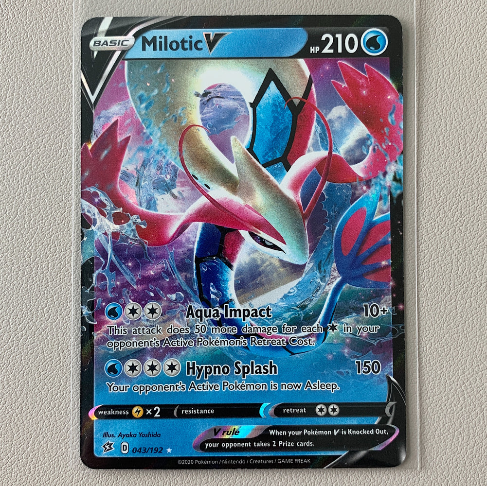 Milotic V (043/192) - Rebel Clash - PokeRand