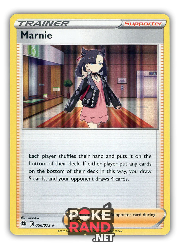 Marnie Holo (056/073) - Champion's Path - PokeRand