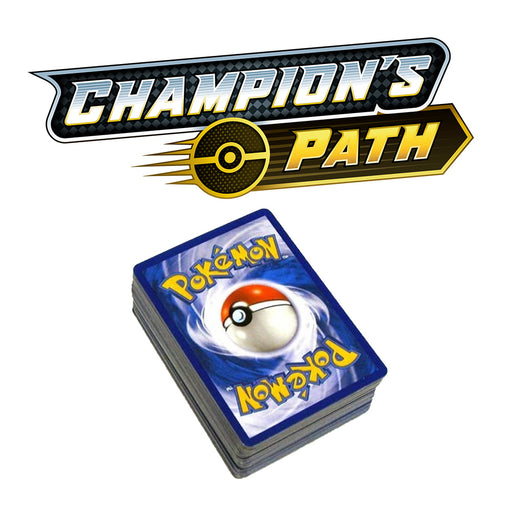 100x Champion's Path Bulk Common & Uncommon Cards - PokeRand
