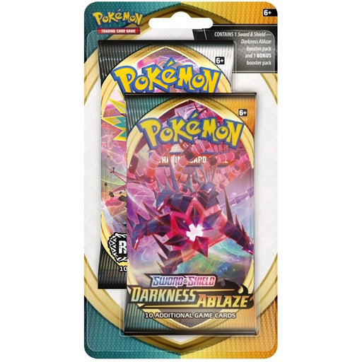 2 Pack Blister - Darkness Ablaze & Rebel Clash - PokeRand