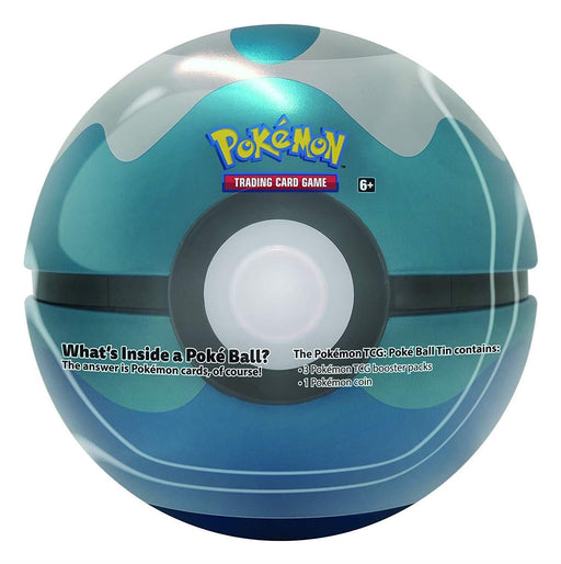 Dive Ball - Poke Ball Tin Series 4 - PokeRand