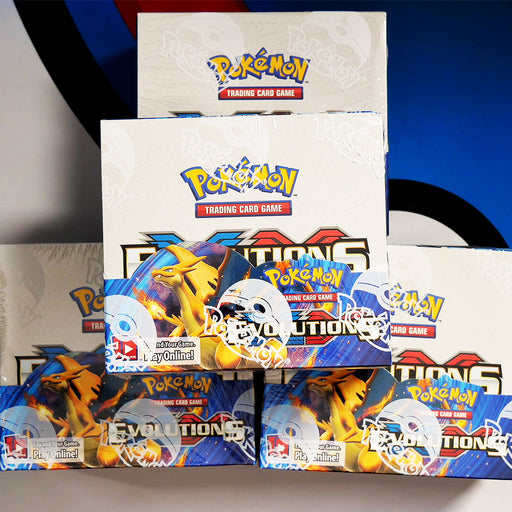 Evolutions SINGLE Booster Pack (Opened LIVE 4pm GMT 22/11)