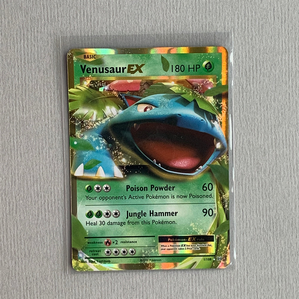 Venusaur EX (001/108) - Evolutions - PokeRand