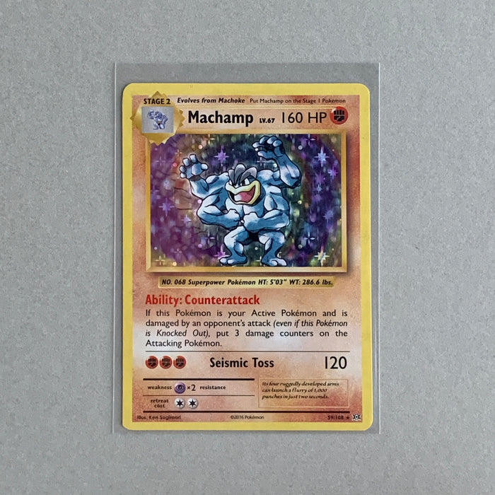Machamp (59/108) - Evolutions - PokeRand