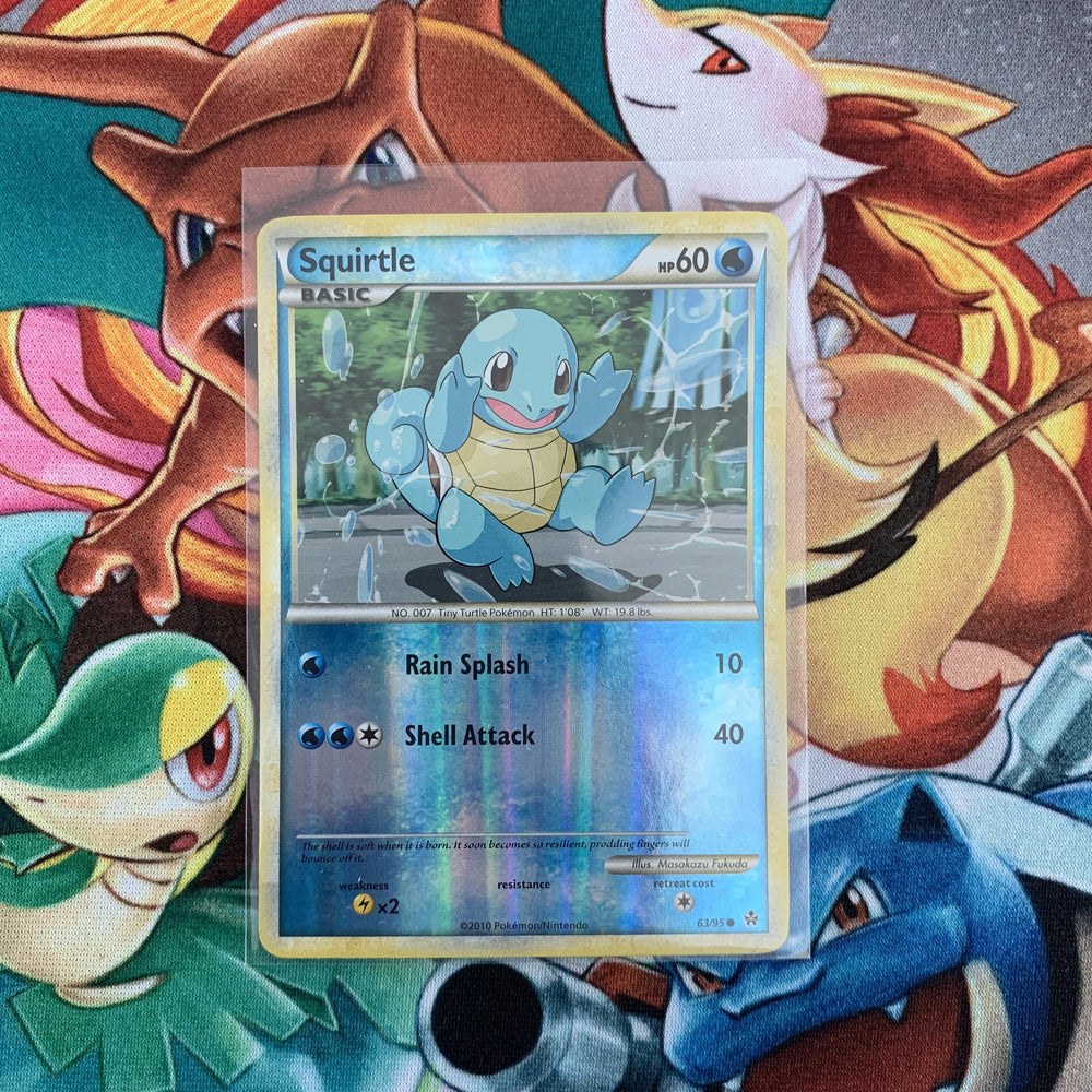 Squirtle (Rev. Holo - 63/95) - Unleashed - PokeRand
