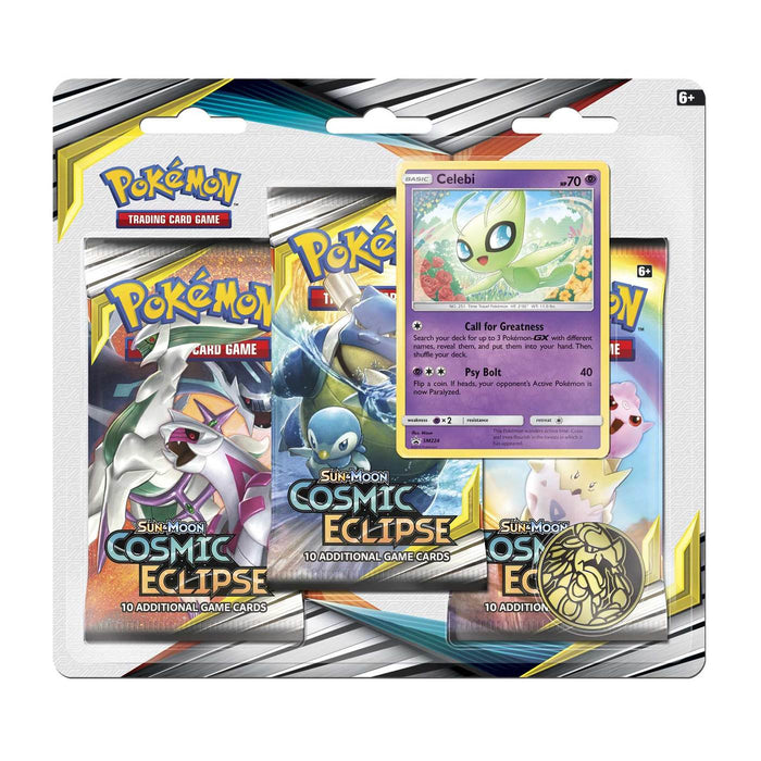 3 Pack Blister (Celebi) - Cosmic Eclipse - PokeRand