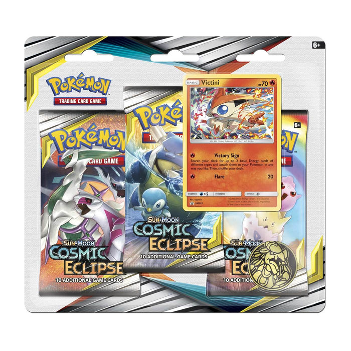 3 Pack Blister (Victini) - Cosmic Eclipse - PokeRand
