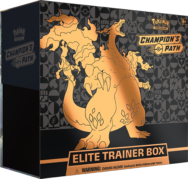 Champion's Path Elite Trainer Box (Reprint) - PokeRand