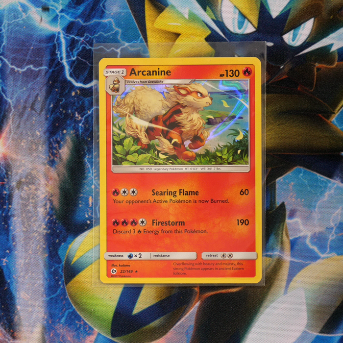 Arcanine (Holo - 22/149) - Sun & Moon (Base Set) - PokeRand