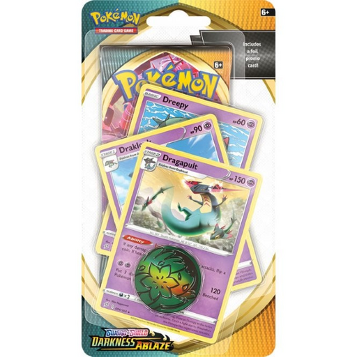 Pokemon TCG: Dragapult Checklane Blister - Darkness Ablaze - PokeRand