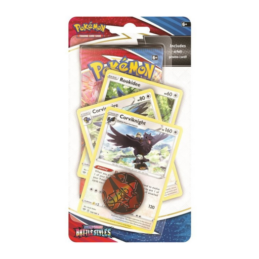 Corviknight Premium Checklane Blister - Battle Styles - PokeRand