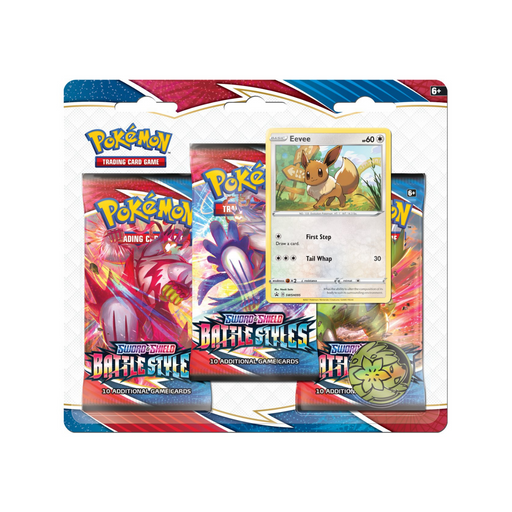 3 Pack Blister (Eevee) - Battle Styles - PokeRand