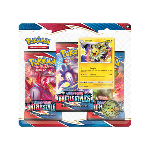 3 Pack Blister (Jolteon) - Battle Styles - PokeRand