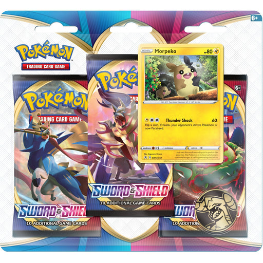 3 Pack Blister (Morpeko) - Sword & Shield - PokeRand