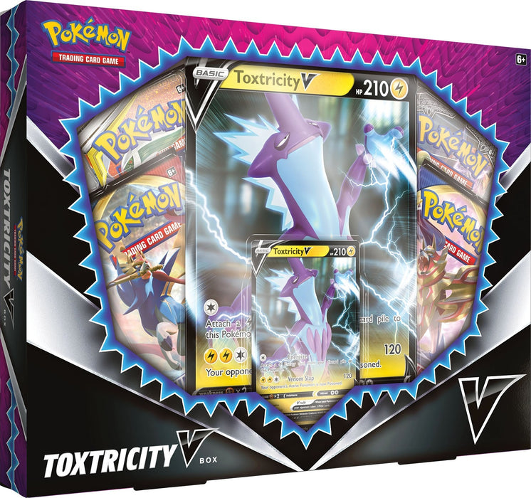 Toxtricity V Collection Box - Sword & Shield - PokeRand