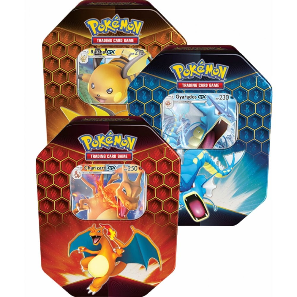 Hidden Fates Collectors Tins - Set of 3 (Reprint) - PokeRand