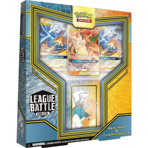 Reshiram & Charizard GX League Battle Deck - PokeRand