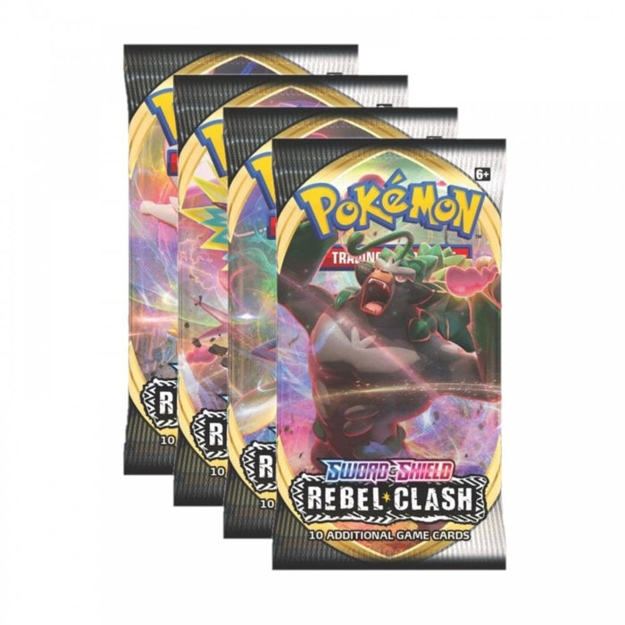 Rebel Clash Single Booster Pack - PokeRand