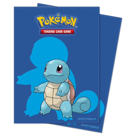Squirtle Ultra Pro Sleeves (Deck Protectors Sword and Shield) - PokeRand