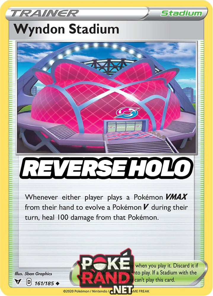 Reverse Holo (161/185) Wyndon Stadium - Vivid Voltage - PokeRand