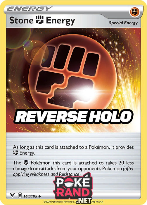 Reverse Holo (164/185) Stone Energy - Vivid Voltage - PokeRand