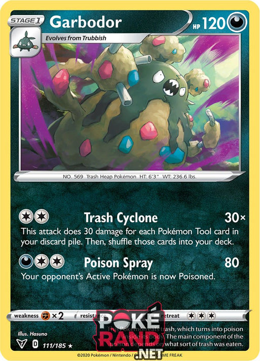 (111/185) Garbodor - Rare - Vivid Voltage - PokeRand