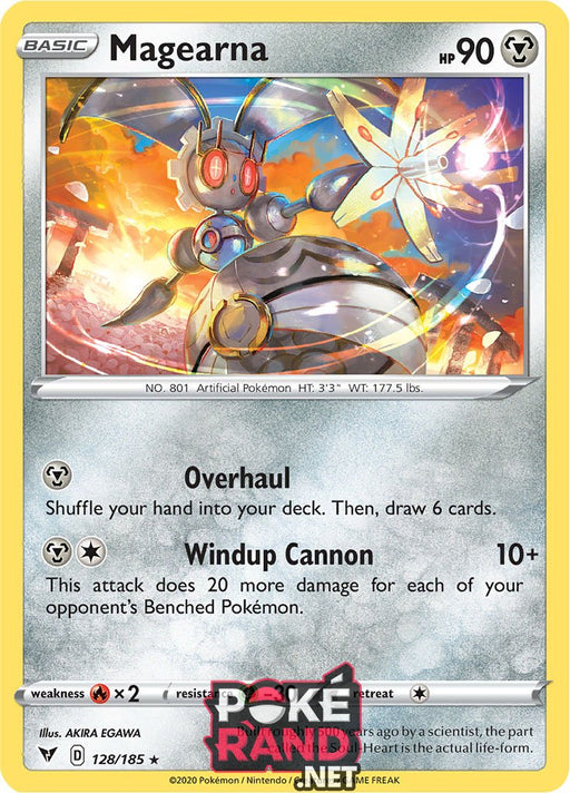 (128/185) Magearna - Holo - Vivid Voltage - PokeRand
