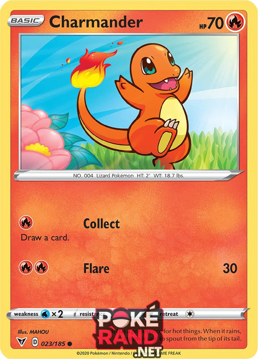 (023/185) Charmander - Common - Vivid Voltage - PokeRand