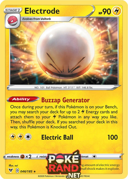 (046/185) Electrode - Holo - Vivid Voltage - PokeRand