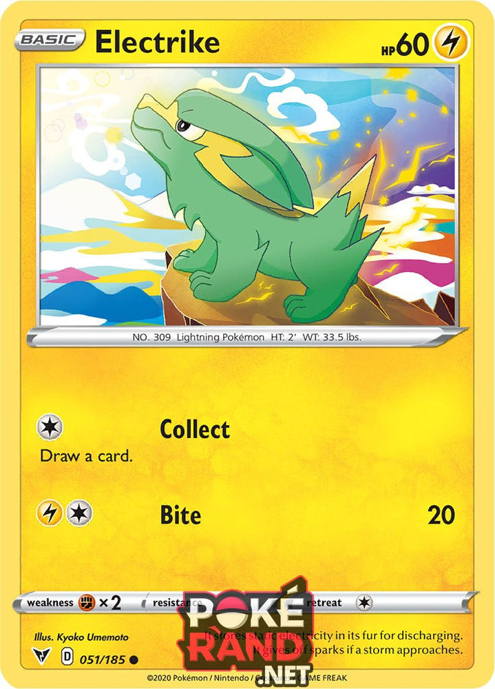 (051/185) Electrike - Common - Vivid Voltage - PokeRand