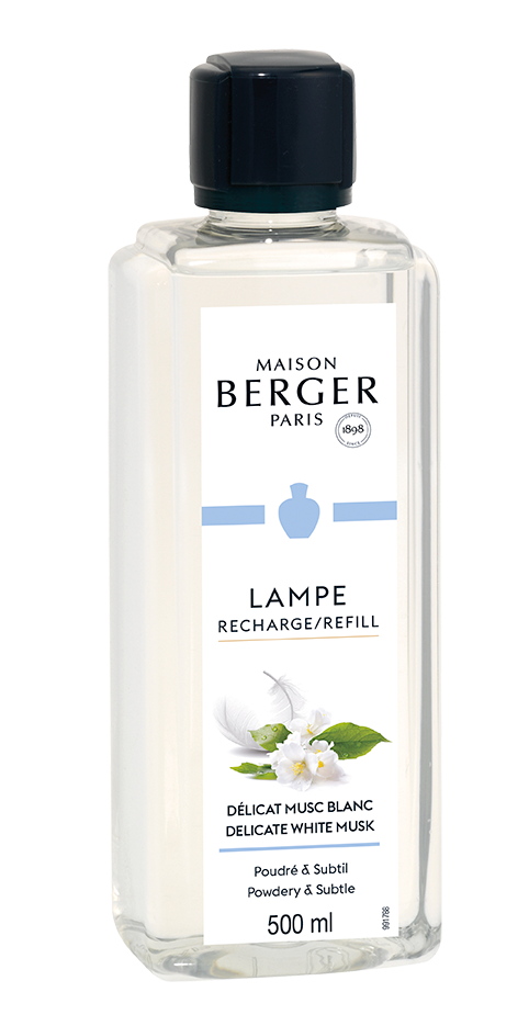 Delikater weißer Moschus - Lampe Berger Duft - 500 ml