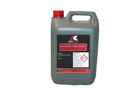 Apache Red Bleeding Wheel Cleaner - Autoklass Cleaning Solutions
