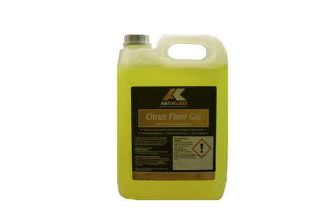 Citrus Floor Gel (Zesty Lemon) - Autoklass Cleaning Solutions