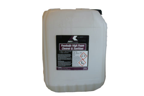 Foodsafe High Foam Cleaner & Sanitiser - Autoklass Cleaning Solutions