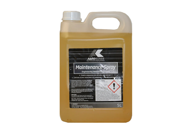 Maintenance Spray - Autoklass Cleaning Solutions