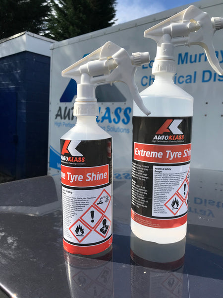 Extreme Tyre Shine - Autoklass Cleaning Solutions