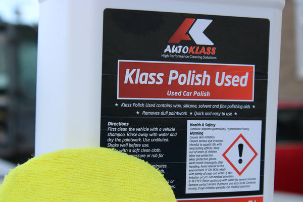 Klass Polish Used - Autoklass Cleaning Solutions