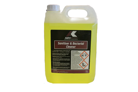 Sanitiser & Bacterial Cleaner (CONCENTRATE) - Autoklass Cleaning Solutions