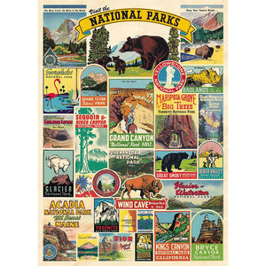 National Parks Greeting Card & Envelope