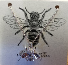 Load image into Gallery viewer, Queen Bee (Silver) Bear Box