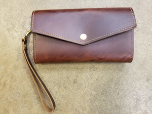 Leather Women's Clutch Wallet Lifetime Leather