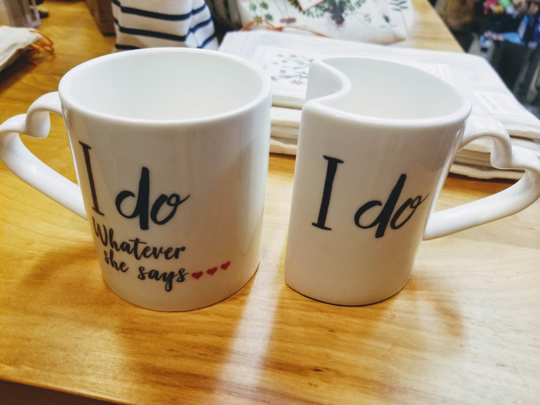 Couples Mugs (Set of 2)