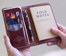 Load image into Gallery viewer, Field Note Wallet Lifetime Leather