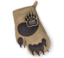 Load image into Gallery viewer, Fred - Bear Hands Cotton Oven Mitts