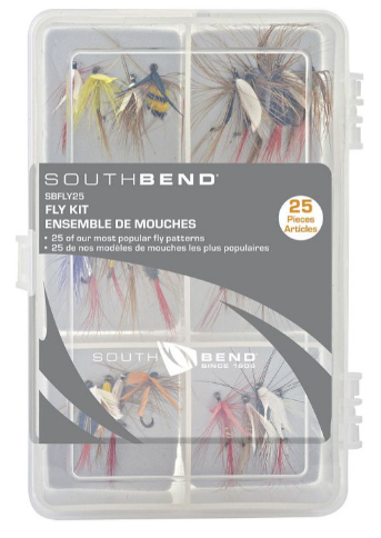 South Bend - Flies Assorted 25 pack w/box
