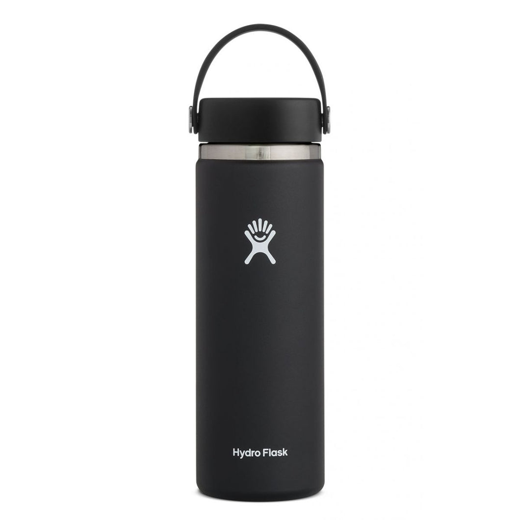 Hydro Flask 20 OZ Wide Mouth Flex Sip Lid Black